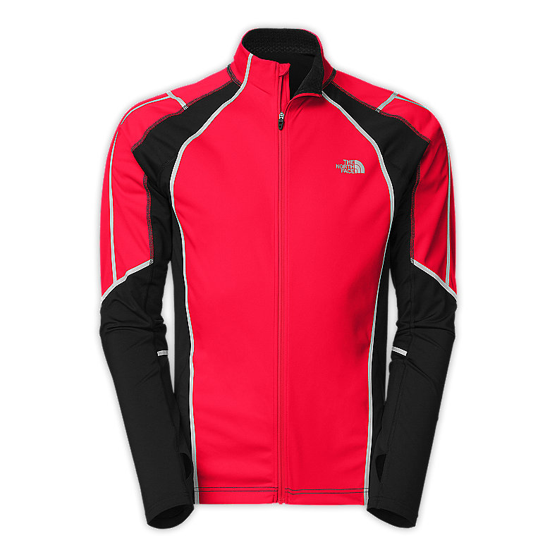 NORTH FACE MEN APEX CLIMATEBLOCK JACKET TNF BLACK / TNF RED