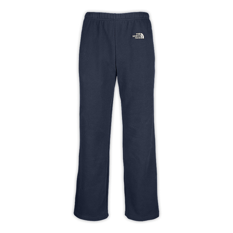 NORTH FACE MEN LOGO PANTS DEEP WATER BLUE / ETHER GREY