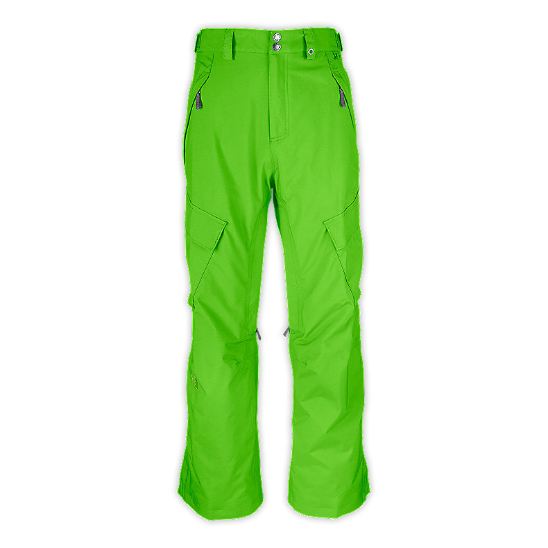 NORTH FACE MEN SLASHER CARGO PANT GLO GREEN