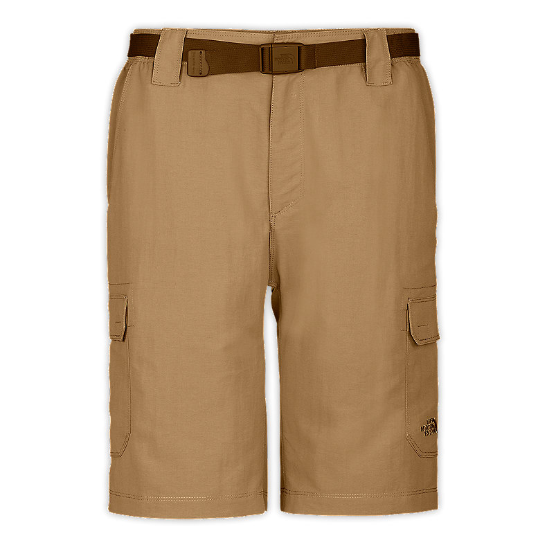 NORTH FACE MEN PARAMOUNT CARGO SHORTS MOAB KHAKI