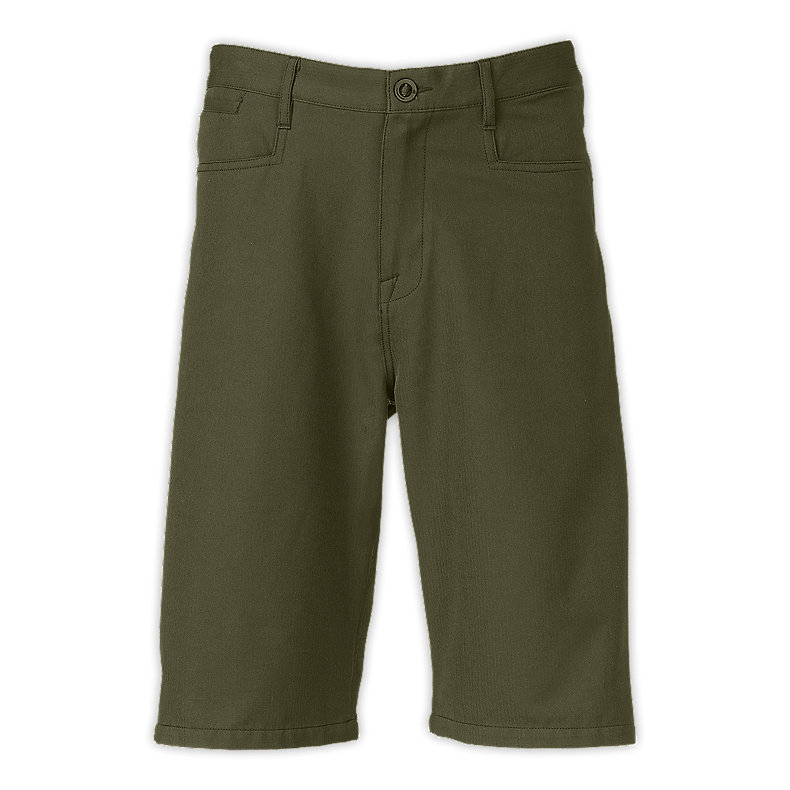 NORTH FACE MEN CHIZNO TECH SHORTS FIG GREEN