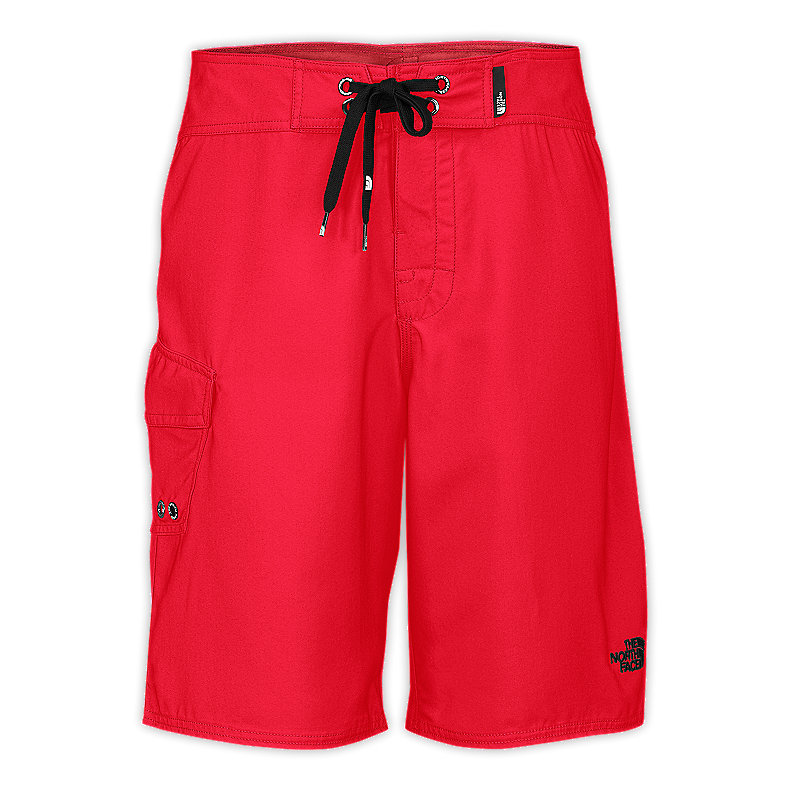 NORTH FACE MEN HODAD BOARDSHORTS TNF RED