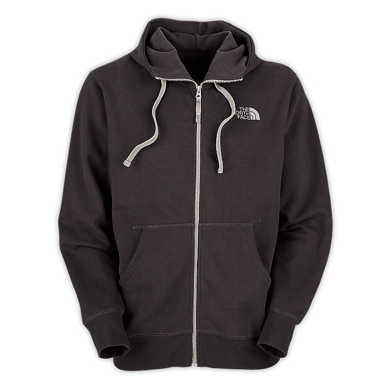 NORTH FACE MEN REARVIEW FULL ZIP HOODIE GRAPHITE GREY / ETHER GREY
