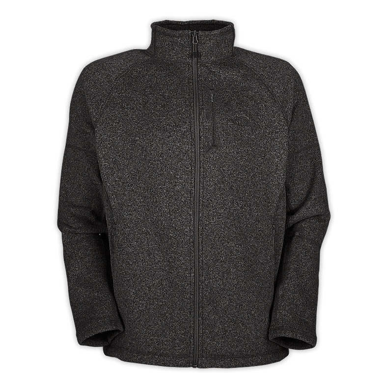 NORTH FACE MEN GORDON LYONS FULL ZIP ASPHALT GREY HEATHER
