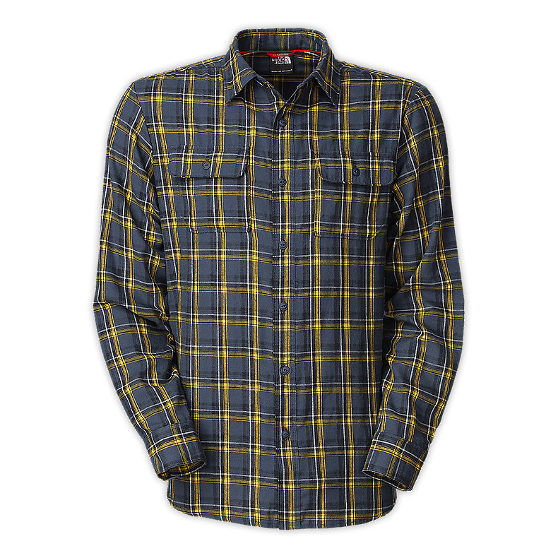 NORTH FACE MEN L/S CRAG FLANNEL DEEP WATER BLUE
