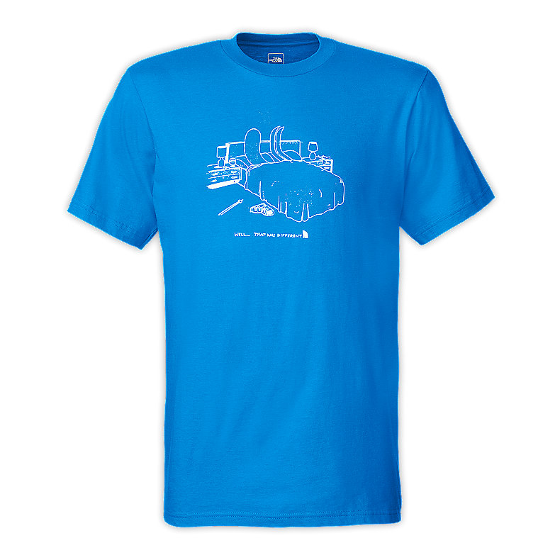 NORTH FACE MEN ODD COUPLE BED TEE ATHENS BLUE
