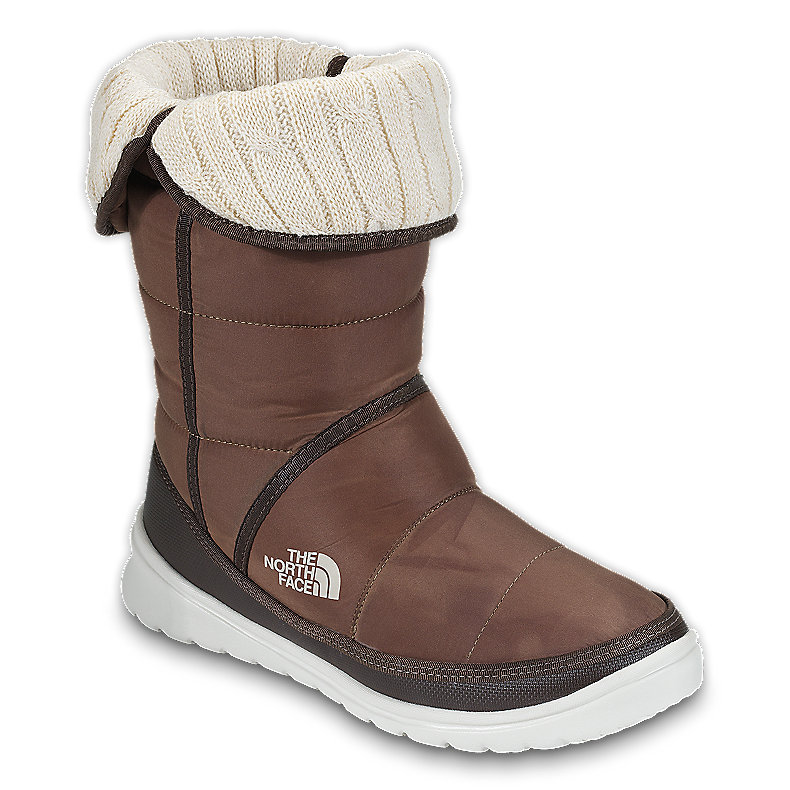 NORTH FACE WOMEN AMORE BOOT UTILITY BROWN (WAXED) / DEMITASSE BROWN