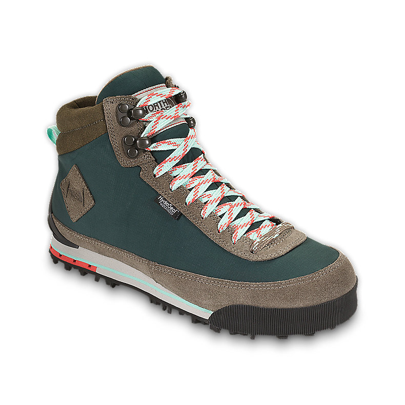 NORTH FACE WOMEN BACK-TO-BERKELEY BOOT II NOAH GREEN / CLASSIC KHAKI