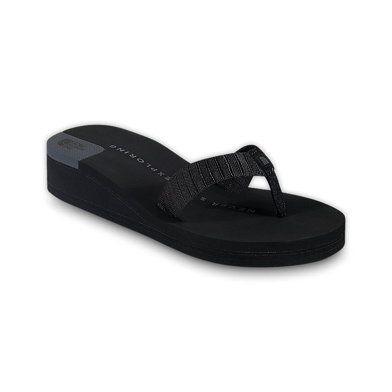 NORTH FACE WOMEN WOHELO WEDGE BLACK / BLACK