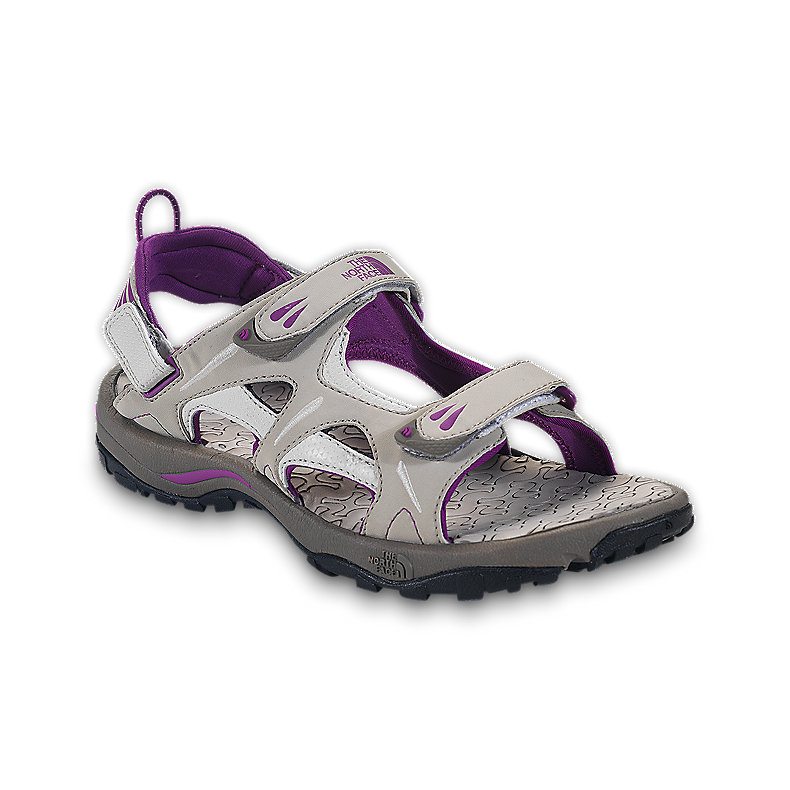 NORTH FACE WOMEN HEDGEHOG SANDAL FOSSIL IVORY / MAGIC MAGENTA