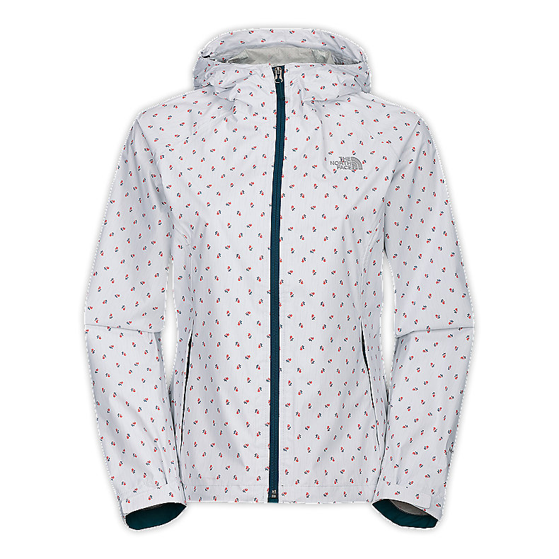 NORTH FACE WOMEN BELLA JACKET TNF WHITE DITSY