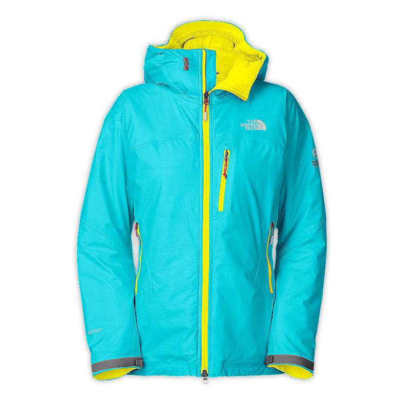 NORTH FACE WOMEN MAKALU INSULATED JACKET TURQUOISE BLUE