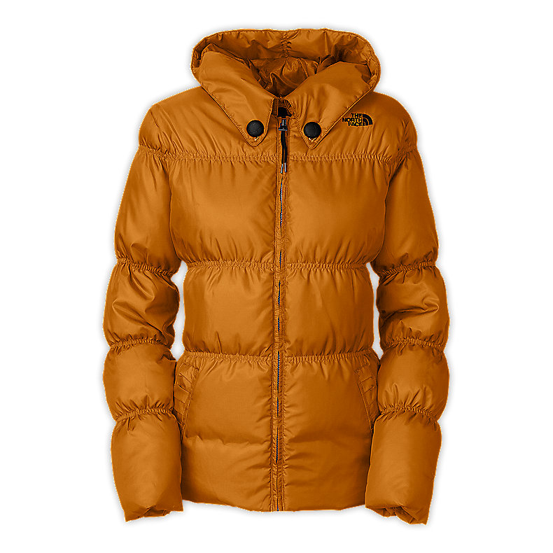 NORTH FACE WOMEN TOTALLY DOWN JACKET TIMBER TAN