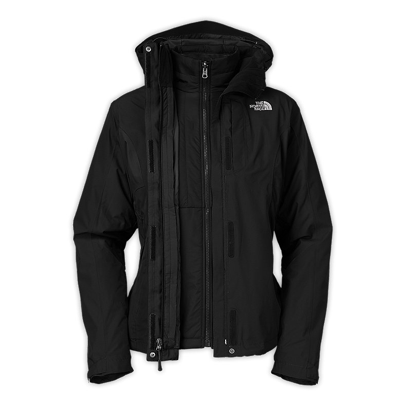NORTH FACE WOMEN VINSON II TRICLIMATE JACKET TNF BLACK