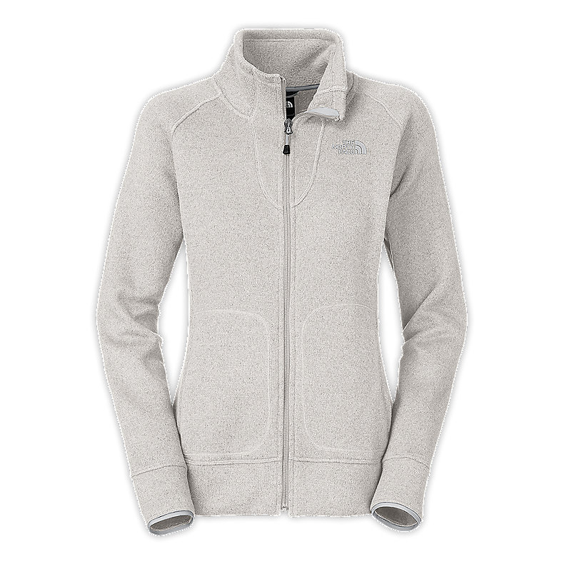 NORTH FACE WOMEN CRESCENT POINT FULL ZIP VAPOROUS GREY