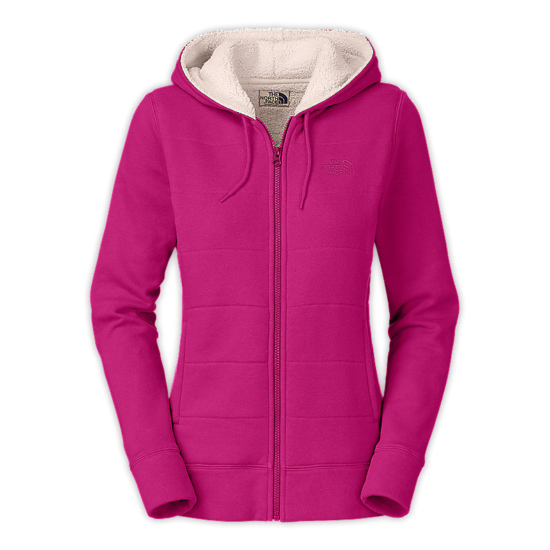 NORTH FACE WOMEN TIMBERWOOD FULL ZIP HOODIE ROXBURY PINK