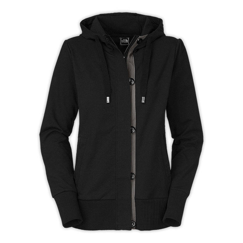 NORTH FACE WOMEN STEPPIN' OUT HOODIE TNF BLACK