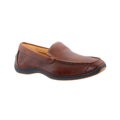 Timberland Mens Earthkeepers Annapolis Slip-On Shoes Rootbeer Smooth