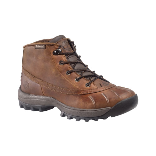 Timberland Mens Canard Mid Classic Boots Medium Brown