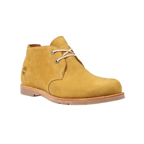 Timberland Mens Earthkeepers Rugged LT Waterproof Chukka Shoes Wheat Tumbled Nubuck