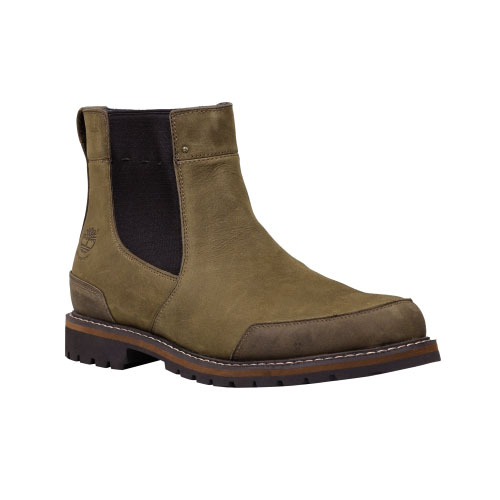 Timberland Mens Chestnut Ridge Waterproof Chelsea Boots Brown Oiled