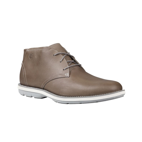 Timberland Mens Earthkeepers Kempton Chukka Shoes Grey Nubuck