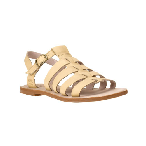 Timberland Womens Sheafe Leather Fisherman Sandals Tan Gluvy Leather