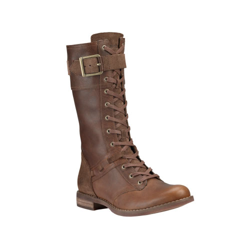 Timberland Womens Earthkeepers Savin Hill Mid Boots Tobacco Forty Leather