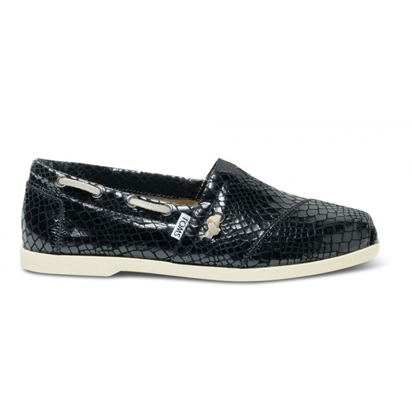 TOMS+ Black Serpentine Men Classics