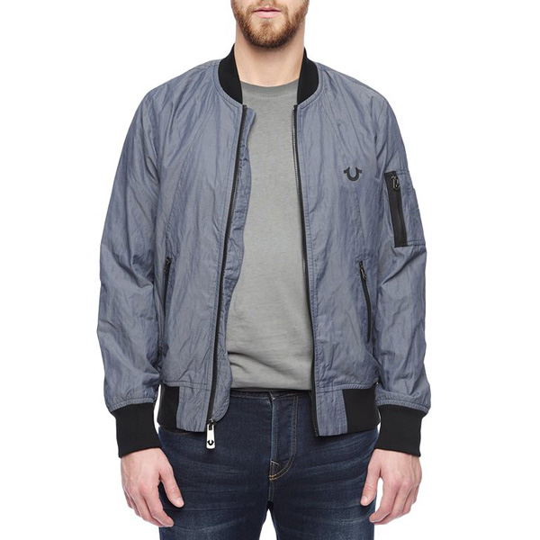 TRUE RELIGION MENS BOMBER JACKET