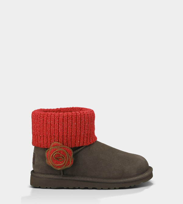 UGG KIDS MINI SOUTHERN BELLE CHOCOLATE