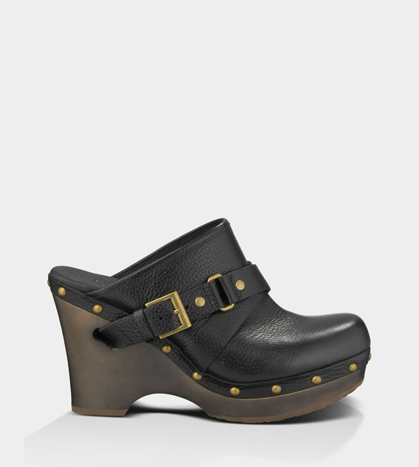 UGG WOMENS NATALEE BLACK