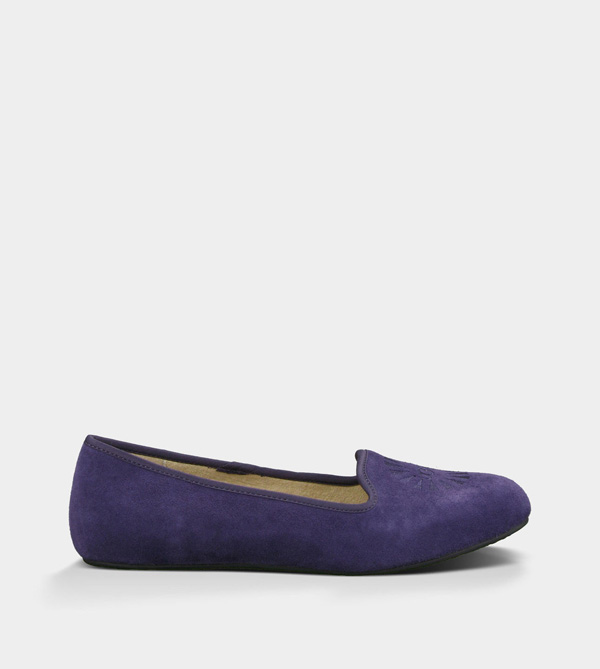 UGG WOMENS ALLOWAY PURPLE VELVET