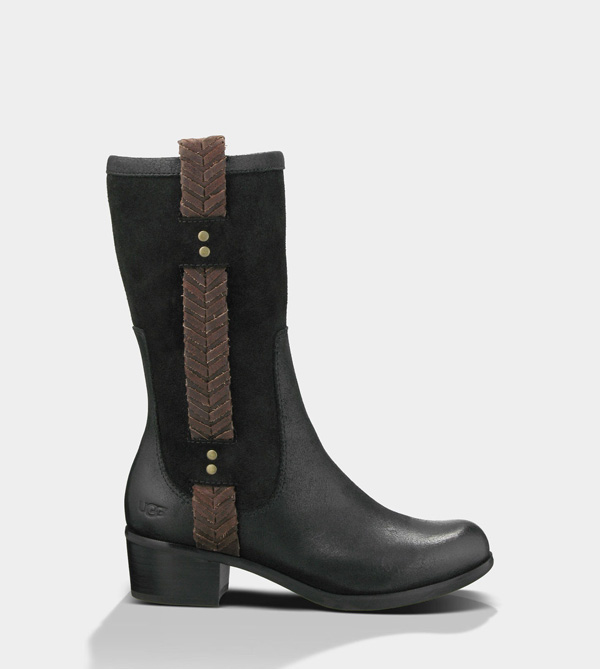 UGG WOMENS JASPAN BLACK