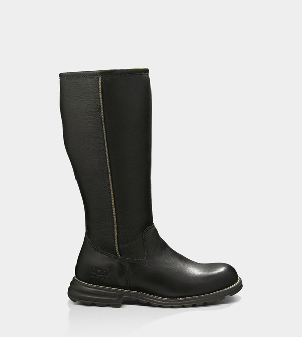 UGG WOMENS BROOKS TALL BLACK