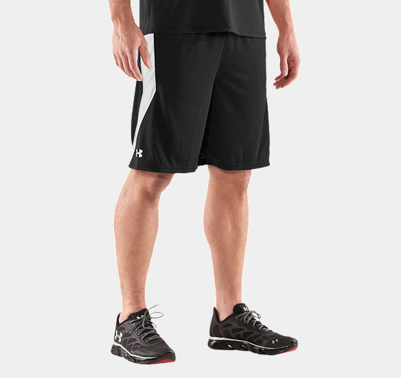 "UNDER ARMOUR MEN MULTIPLIER 10"" SHORT BLACK"
