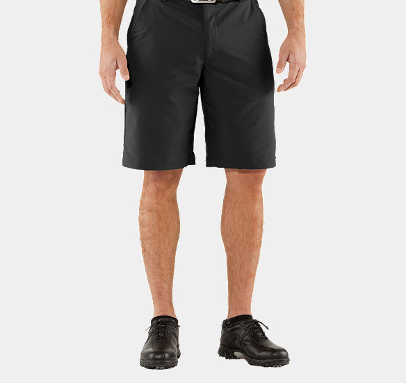 UNDER ARMOUR MEN BENT GRASS 2.0 SHORTS BLACK