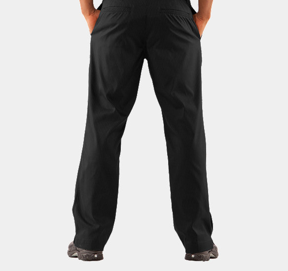 UNDER ARMOUR MEN FORGED STRIPE PANTS 2.0 BLACK
