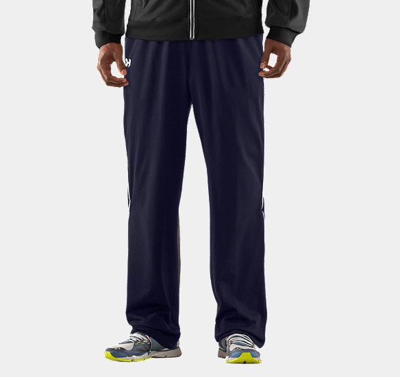 UNDER ARMOUR MEN STRENGTH TRACK PANTS MIDNIGHT NAVY
