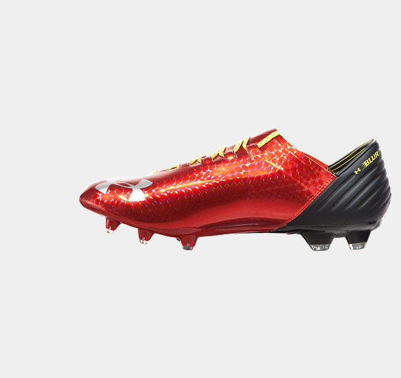 UNDER ARMOUR MEN BLUR CARBON III FOOTBALL BOOTS DARK ORANGE