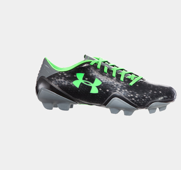 UNDER ARMOUR MEN BLUR FLASH III FG FOOTBALL BOOTS BLACK