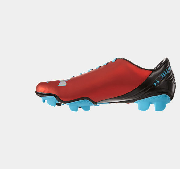 UNDER ARMOUR MEN BLUR FLASH III FG FOOTBALL BOOTS RED