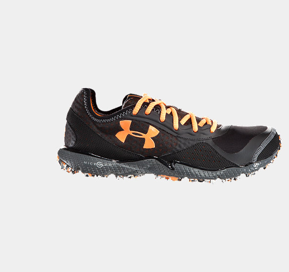 UNDER ARMOUR MEN FTHR SHIELD TR RUNNING SHOES BLACK