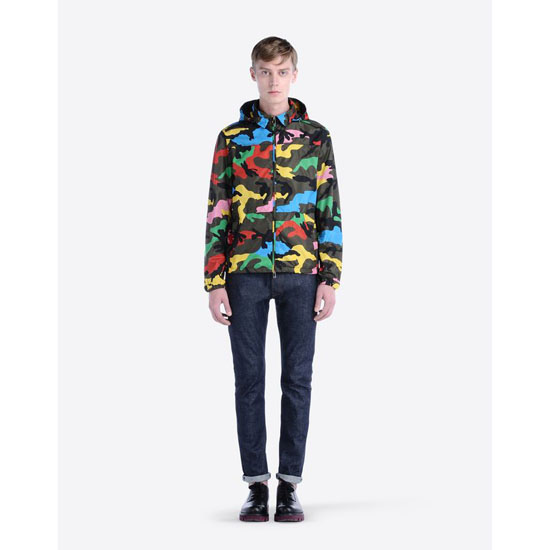 VALENTINO HOODED WIND JACKET IV0CIB51290 F80