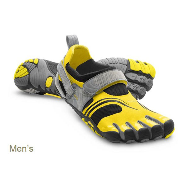 Vibram Five Fingers KOMODOSPORT Yellow / Black / Silver / Grey