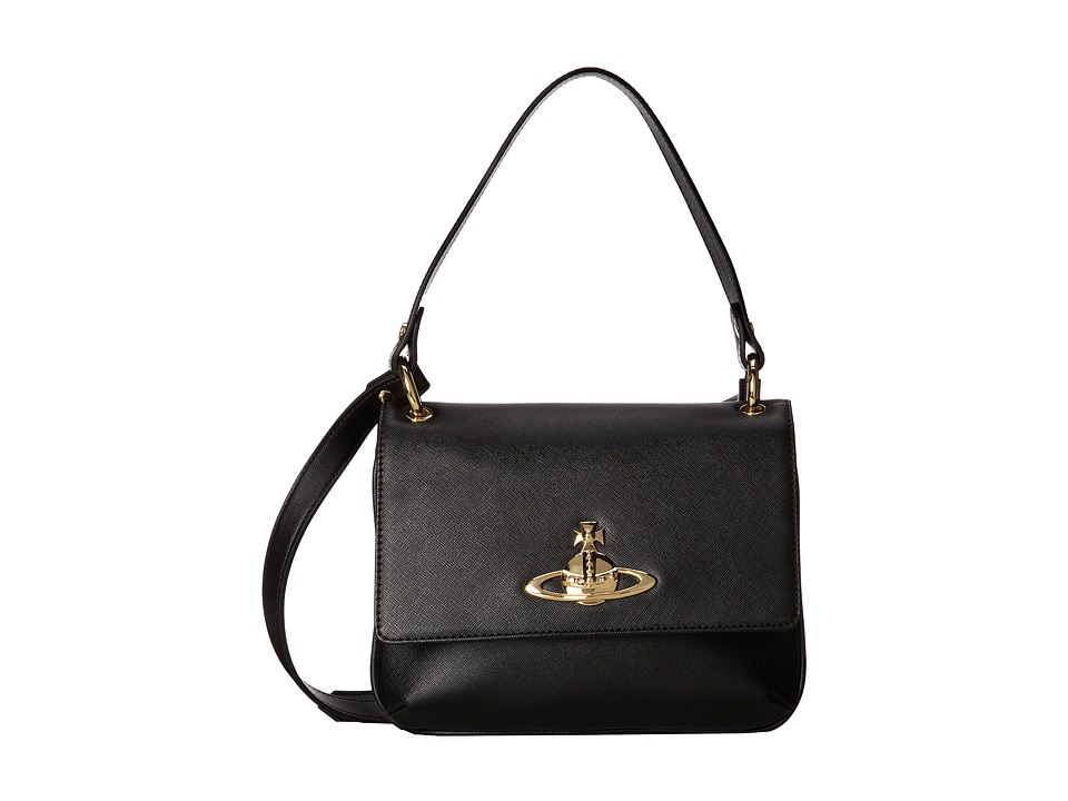 Vivienne Westwood Metal Logo Shoulder Bag