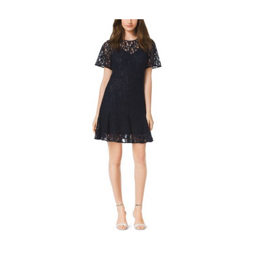 MICHAEL MICHAEL KORS Lace Dress NAVY